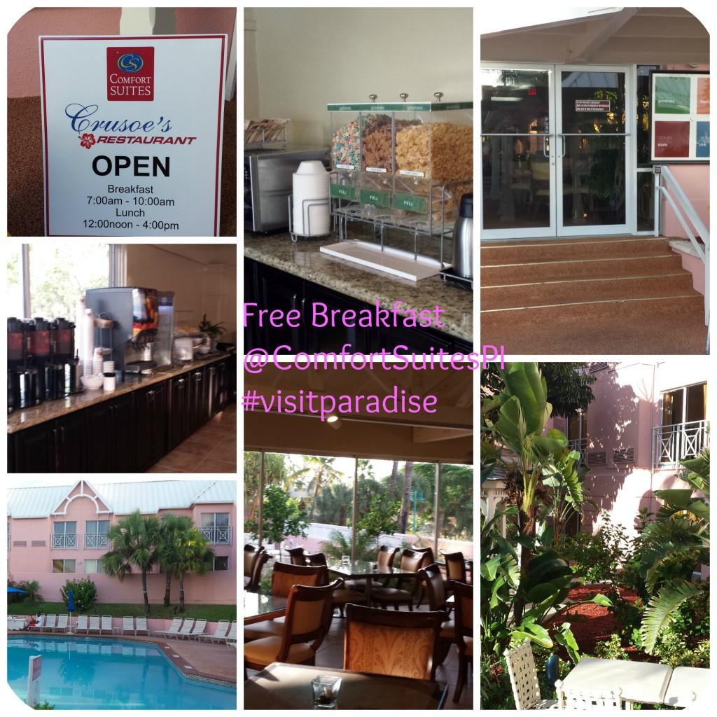 Free Breakfast @ComfortSuitesPI #visitparadise