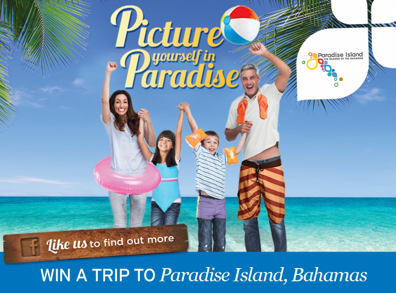 Picture Yourself in Paradise #visitparadise