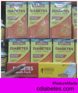 Nature Made Daily Diabetes Health Pack Costco