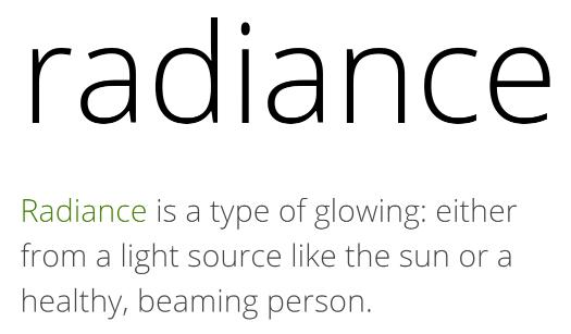 Mother Nature Nurtures Radiance