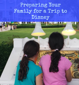 planning your trip to Disney