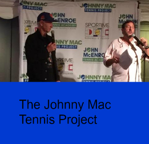 Tennis Anyone? The Johnny Mac Tennis Project