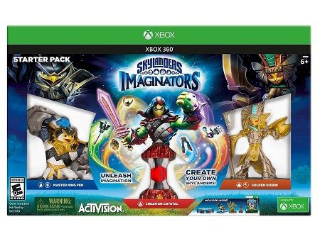 Unleash Your Creativity and Win a Skylanders Imaginators XBOX 360 Starter Kit