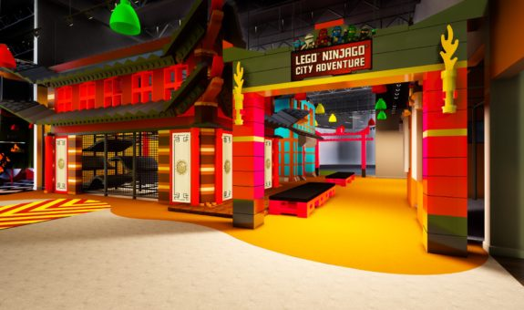 New Attraction Ninjago City Adventure Opens at Legoland Discovery Center Westchester