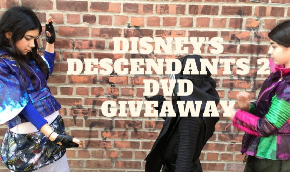 The Villain Kids of Disney's DESCENDANTS are Back + Sequel DVD Giveaway